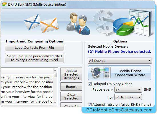Mobile Bulk SMS Gateway