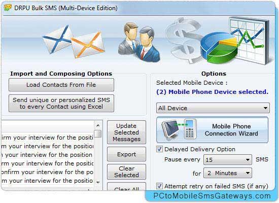 Mobile Bulk SMS Gateway screenshot