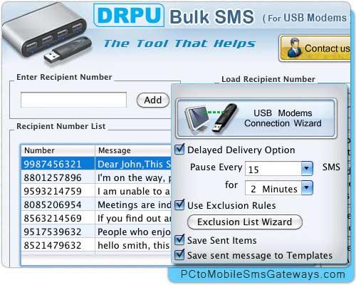 Мобильный SMS массовых